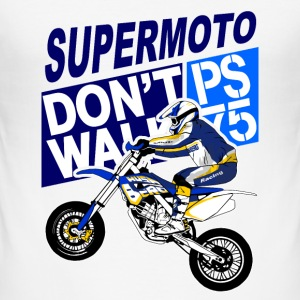 Supermoto T-Shirts - Men's Slim Fit T-Shirt