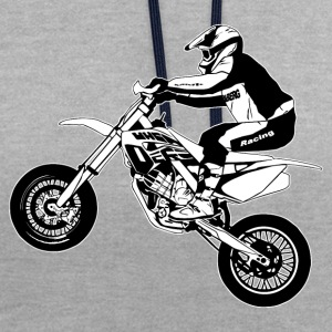 Supermoto Hoodies & Sweatshirts - Contrast Colour Hoodie
