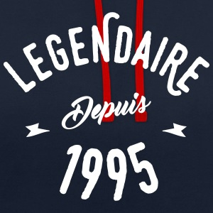 legendaire depuis 1995 Sweat-shirts - Sweat-shirt contraste