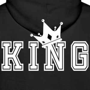 Valentine's Matching Couples King Crown Jersey - Premiumluvtröja herr
