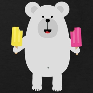 Polar bear with ice Shirts - Kids' Organic T-shirt
