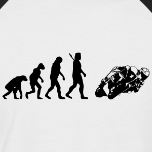 Superbike T-Shirts - Männer Baseball-T-Shirt
