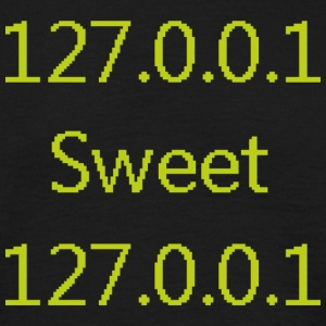 127.0.0.1 sweet 127.0.0.1 - T-shirt herr