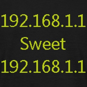 192.168.0.1 sweet 192.168.0.1 - T-shirt herr