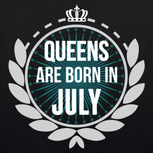 Queens Are Born In July Bags & Backpacks - EarthPositive Tote Bag
