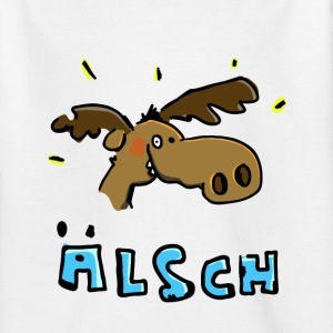 De eland is in een goed humeur Shirts - Teenager T-shirt