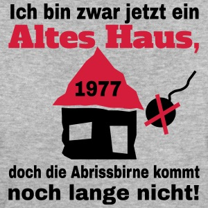 Altes Haus 1977 T-Shirts - Frauen Bio-T-Shirt