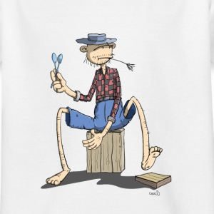 The Hillbilly monkey makes the rhythm Shirts - Kids' T-Shirt