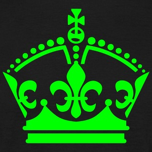 King König Crown Krone Star Luxus Mann T-Shirt - Männer T-Shirt