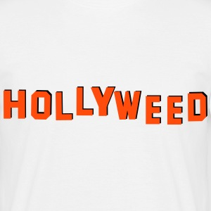 Cannabis Hollywood = Hollyweed - T-shirt Homme