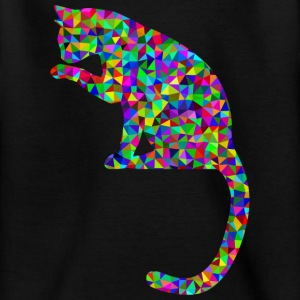 Facettenkatze Shirts - Teenager T-shirt