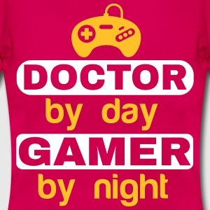 DOCTOR BY DAY GAMER BY NIGHT T-Shirts - Women's T-Shirt