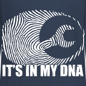 Mechaniker: It's in my DNA Long Sleeve Shirts - Teenagers' Premium Longsleeve Shirt