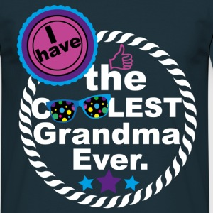 I HAVE THE COOLEST GRANDMA EVER T-Shirts - Men's T-Shirt