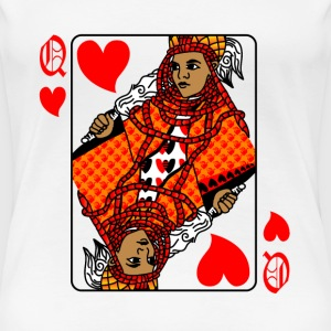 Queen of hearts T-Shirts - Women's Premium T-Shirt