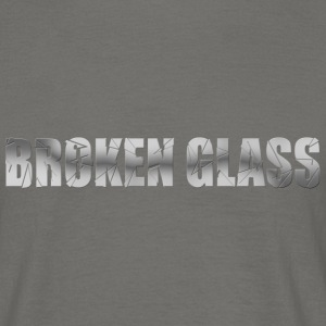 Broken Glass T-shirts - Herre-T-shirt