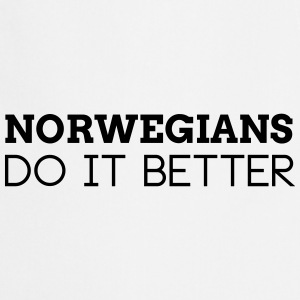 NORWEGIANS DO IT BETTER  Aprons - Cooking Apron
