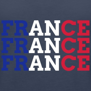 FRANCE Tops - Frauen Premium Tank Top