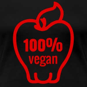100 % Vegan T-Shirts - Frauen Premium T-Shirt