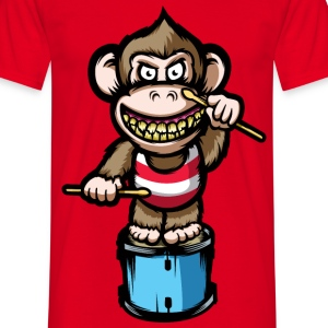 Ape Drums T-Shirts - Men's T-Shirt