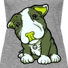 Pit Bull Terrier Puppy Greens - Women's Premium Tank Top