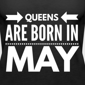EN - Queens Born May Tops - Frauen Premium Tank Top