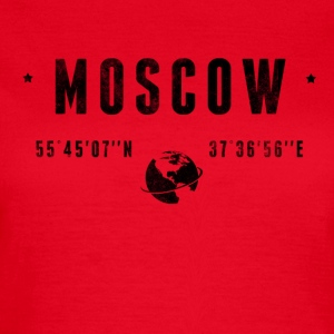 Moscow T-shirts - Dame-T-shirt
