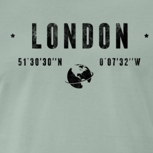 London T-shirts - Herre premium T-shirt