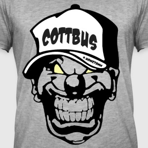 Cottbus Clown - Männer Vintage T-Shirt