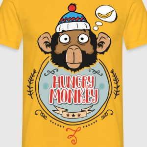 Hungry Monkey - Men's T-Shirt