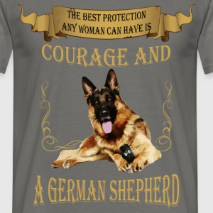 The best protection any woman can have is courage  - Men's T-Shirt