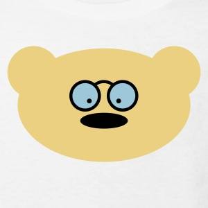 Teddy bear with glasses Shirts - Kids' Organic T-shirt