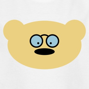Teddy bear with glasses Shirts - Teenage T-shirt