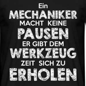 Mechaniker Shirt - Männer T-Shirt