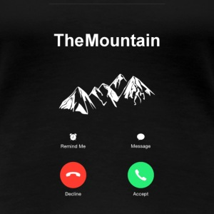 The Mountain Berg ruft T-Shirts - Frauen Premium T-Shirt