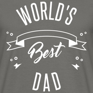 WORLD'S BEST DAD - T-skjorte for menn
