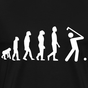 Golf evolution - T-shirt golf - Men's Premium T-Shirt