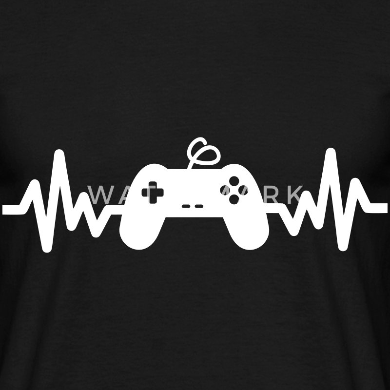 Gaming is life - geek gamer gaming nerd  - Maglietta da uomo