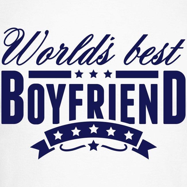 Herren Langarmshirt Worlds Best Boyfriend