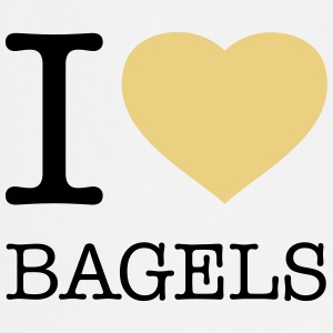 I LOVE BAGELS  Aprons - Cooking Apron