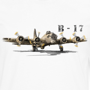 Bomber B-17 Long sleeve shirts - Men's Premium Longsleeve Shirt