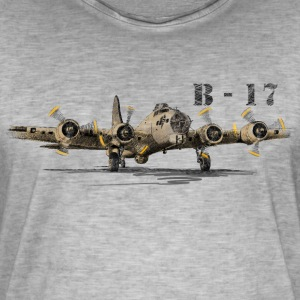 Bomber B-17 Tee shirts - T-shirt vintage Homme