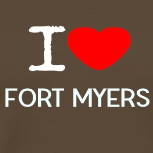 I LOVE FORT MYERS - Männer Premium T-Shirt