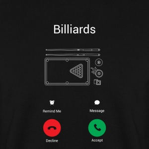 Billard opkald Sweatshirts - Herre sweater