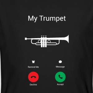 The trumpet calls T-Shirts - Men's Organic T-shirt