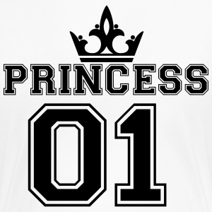 Princess with crown 01 T-Shirts - Frauen Premium T-Shirt