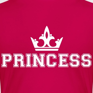 Princess with crown T-Shirts - Frauen Premium T-Shirt