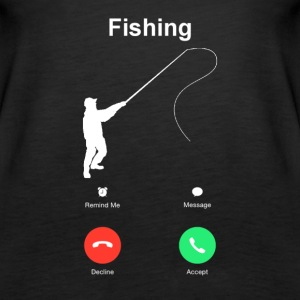 Fishing calling ruft Tops - Frauen Premium Tank Top