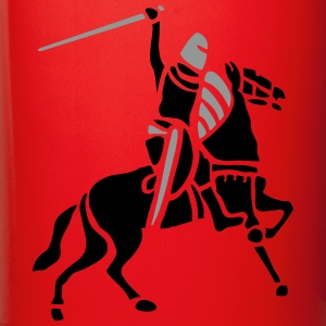 Knight On Horse by patjila Mugs & Drinkware - Full Colour Mug