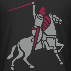 Knight On Horse by patjila T-Shirts - Men's Long Body Urban Tee